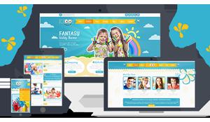 精美响应幼儿园Html模板儿童网站模板