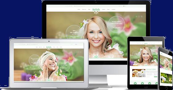 美容院瑜伽网站Html模板Spa沙龙Html模板