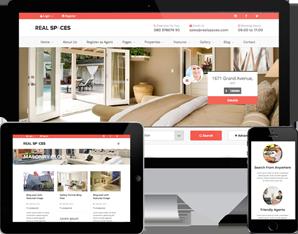 响应式房产中介二手房Bootstrap网站模板