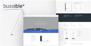 Bootstrap大气蓝色软件公司网站HTML5模板