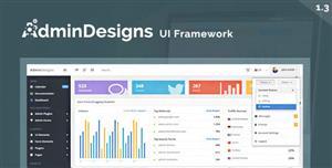 Bootstrap后台UI界面管理模板框架