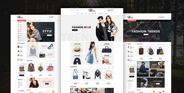 服装Bootstrap电商模板在线商城HTML模板