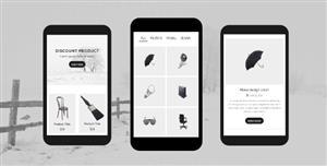 materialize手机app界面模板手机商城Html5模板