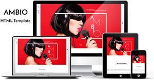 精美Bootstrap個人企業響應式博客HTML模板