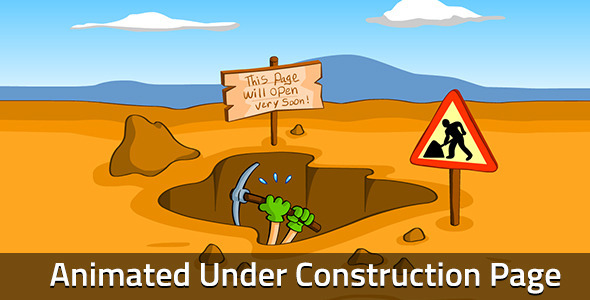 正在建设中网页模板工人施工创意css3动画