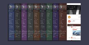 15种皮肤Bootstrap后台模板Html和Php后台