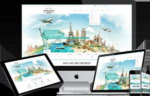 绿色Bootstrap旅游网站精美响应式模板