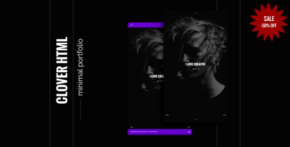 flexbox创意设计师工作室网页Html5模板