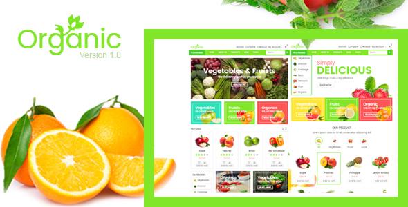 绿色清新bootstrap水果商城html5电子商务模板