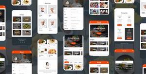 咖啡厅和餐厅手机端HTML5模板