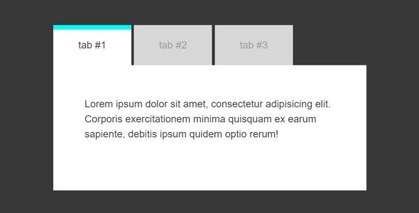 jQuery实现Tab菜单选项卡插件