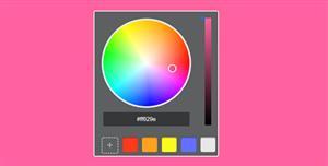 JS选择颜色切换背景颜色