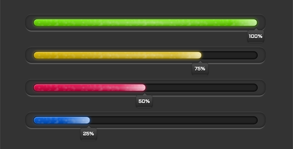 jQuery百分比进度条插件