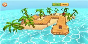 3D超级河豚鱼手机微信HTML5小游戏源码