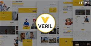 工业建筑公司Bootstrap黄色主题