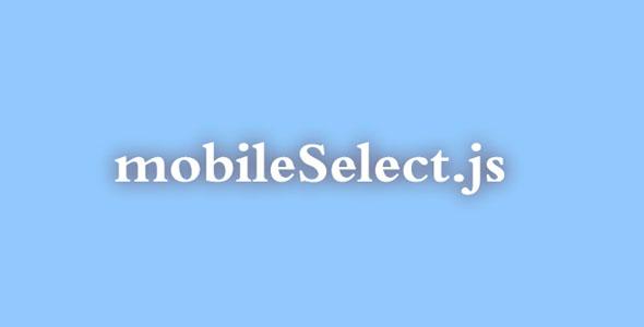 移动端滑动选择插件mobileSelect.js
