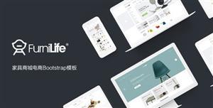 Bootstrap家具家装商城HTML模板
