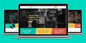Bootstrap儿童慈善网站HTML模板