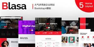 大气Bootstrap商务企业HTML模板