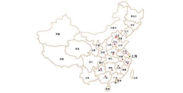 jQuery中国地图实现内容关联代码