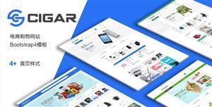 Bootstrap大型购物商城电商模板