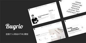 Bootstrap无刷新个人网站模板