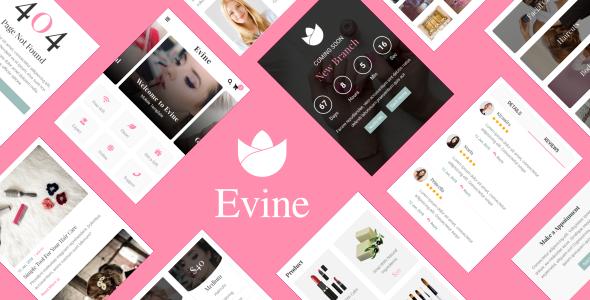 手机端化妆品商城HTML5粉色模板