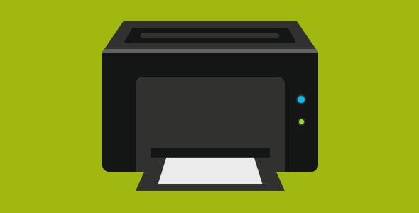 纯css3绘制黑色打印机代码