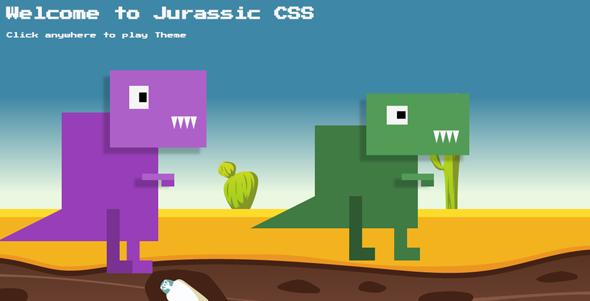 Tone.js恐龙侏罗纪公园场景代码