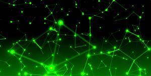 科技感粒子发光HTML5特效