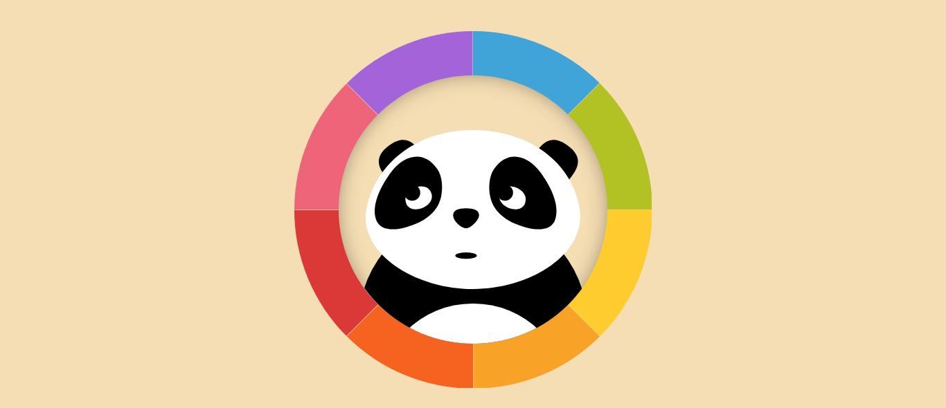 Tone.js大熊猫的眼睛跟随鼠标转动