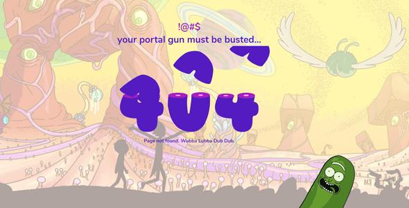 创意svg动画404页面虫子