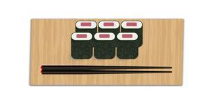 纯css3寿司筷子代码