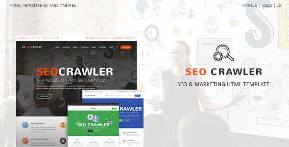 响应式Seo营销公司HTML模板