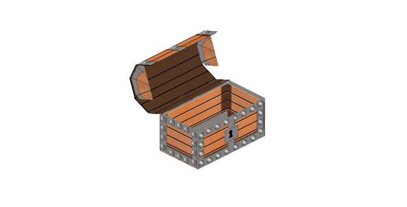 css3绘制开宝箱3d动画