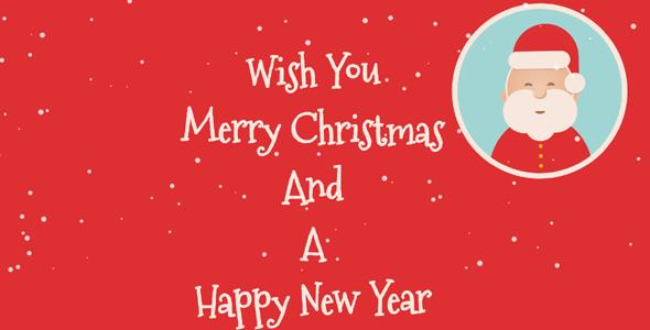 圣诞贺卡CSS3+HTML5动画