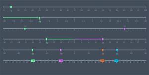vuejs拖拽刻度范围选择插件