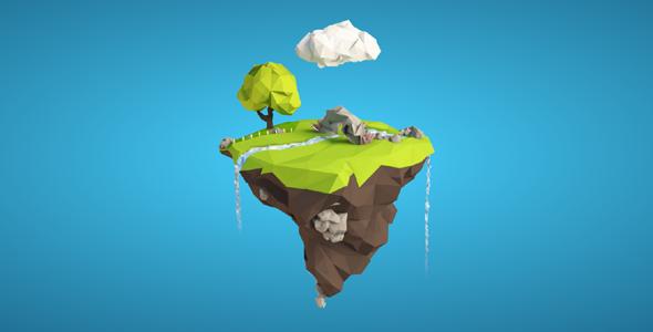 jQuery+CSS3漂浮空中的小岛动画源码下载