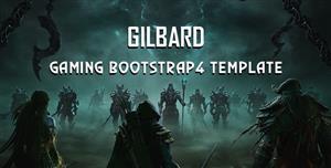 响应式游戏新闻网站Bootstrap模板