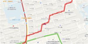 高德地图模拟行车轨迹效果