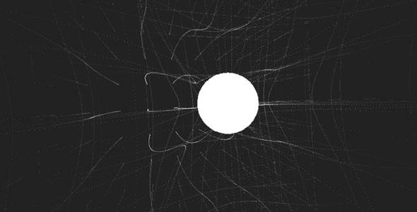 WebGL扭曲时空动画特效
