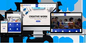 蓝色bootstrap大气企业网站响应式html模板
