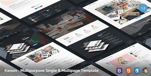 15种首页Bootstrap企业网站模板Html框架