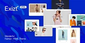 响应式服饰商城HTML5电商创意模板