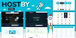 Bootstrap4主机域名服务器IDC商网站模板