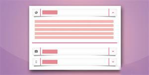 炫酷Bootstrap垂直手风琴CSS3折叠菜单插件