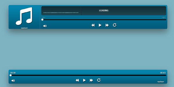 Bootstrap和jQuery炫酷音乐播放器插件