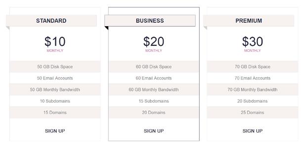 纯CSS3实现Bootstrap炫酷价格表插件