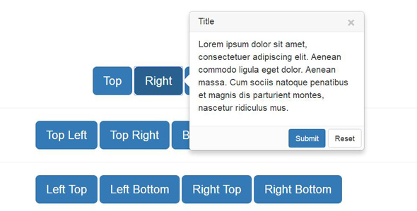 漂亮的Bootstrap扩展popover提示层插件