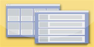 Bootstrap页面网格布局和列表布局切换插件